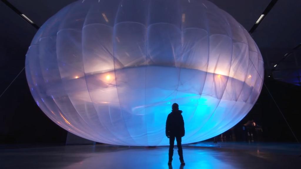 Les ballons qui donnent accès à Internet