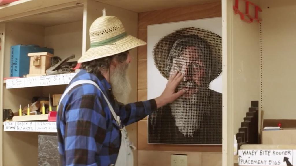 La peinture pour aveugle, véritable bricolage interactif !