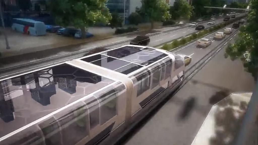 Des ingénieurs chinois ont inventé votre nouveau transport favori