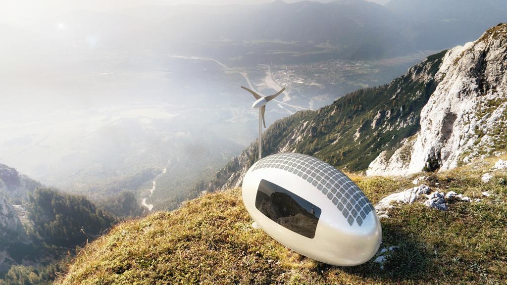 Une écocapsule pour du camping high-tech