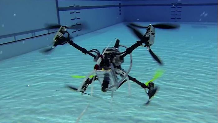 Un drone capable de transporter un passager