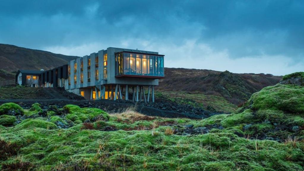 L'éco-hôtel du volcan Hengill