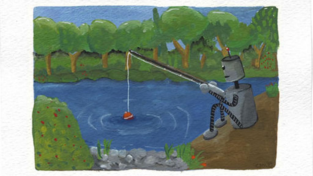 Cet hiver, pêchez des poissons depuis votre salon avec un robot