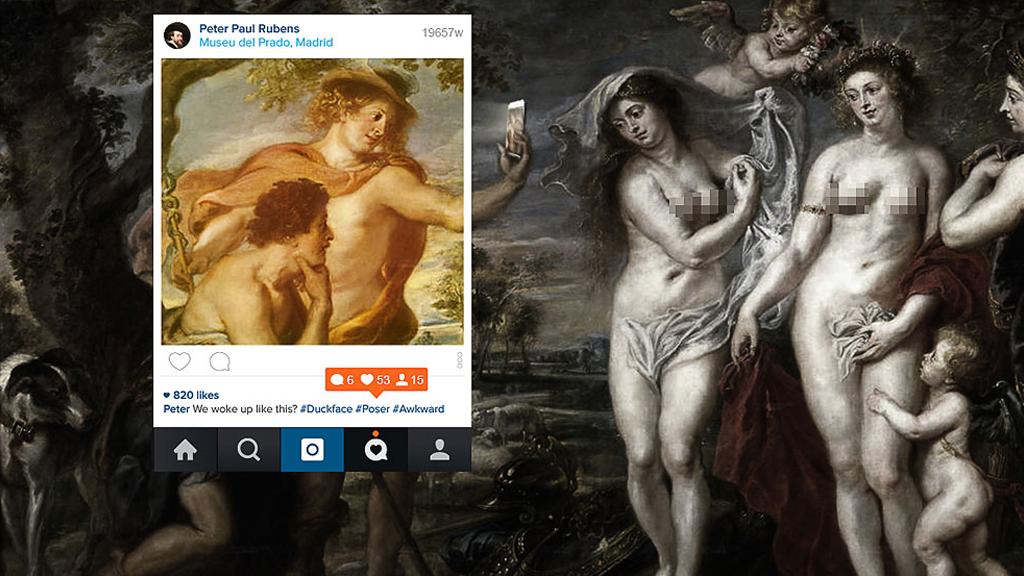 Quand les Dieux Grecs prennent des selfies