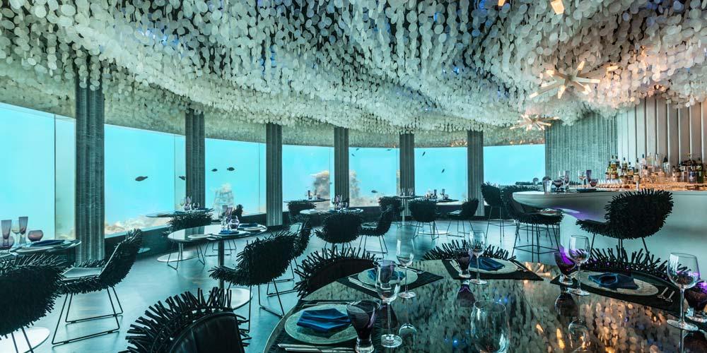 Les plus beaux hôtels sous-marins, spécial claustrophobes