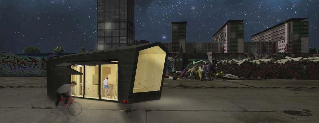 Des mini-maisons sur les toits de Berlin contre la crise du logement