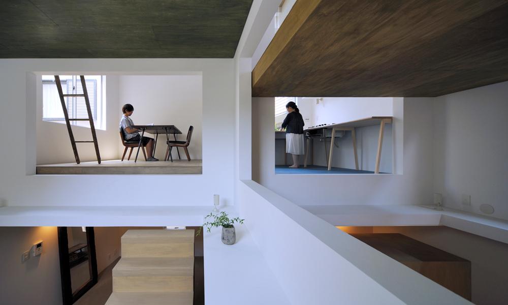 """La """"House T"""", une maison ninja sans cloison ni escalier"""