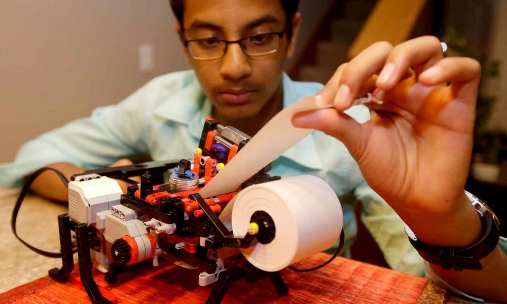 Une imprimante pour aveugles à moins de 500 briques… de LEGO