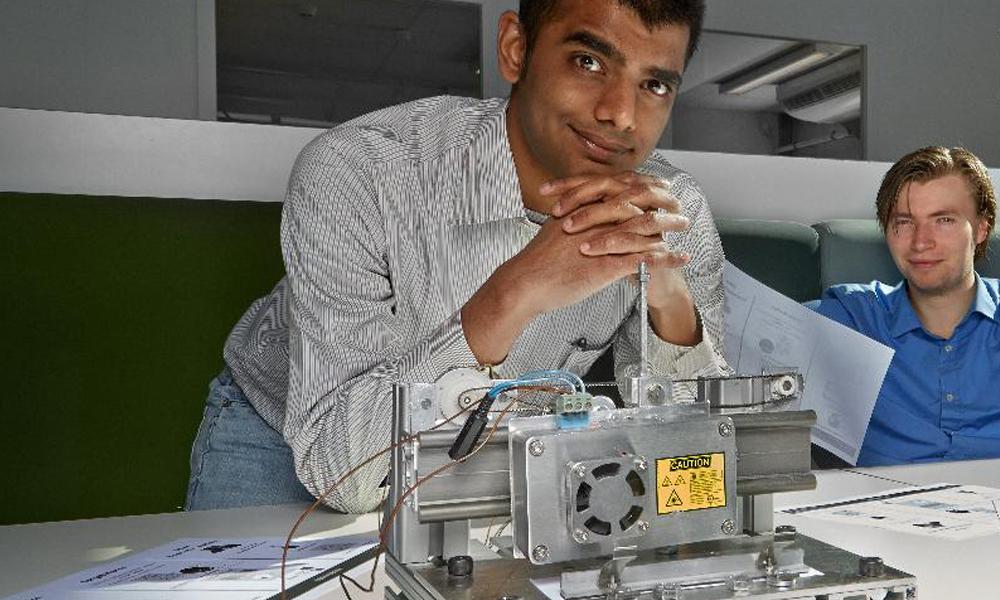 Un jeune chercheur vient d'inventer l'imprimante sans encre