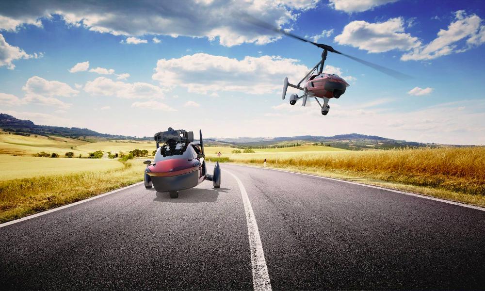 Surprise : la première voiture volante en vente est hollandaise !