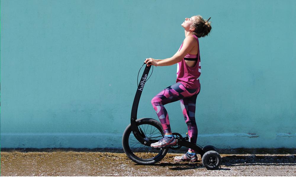 Un demi-vélo pour des maxi sensations