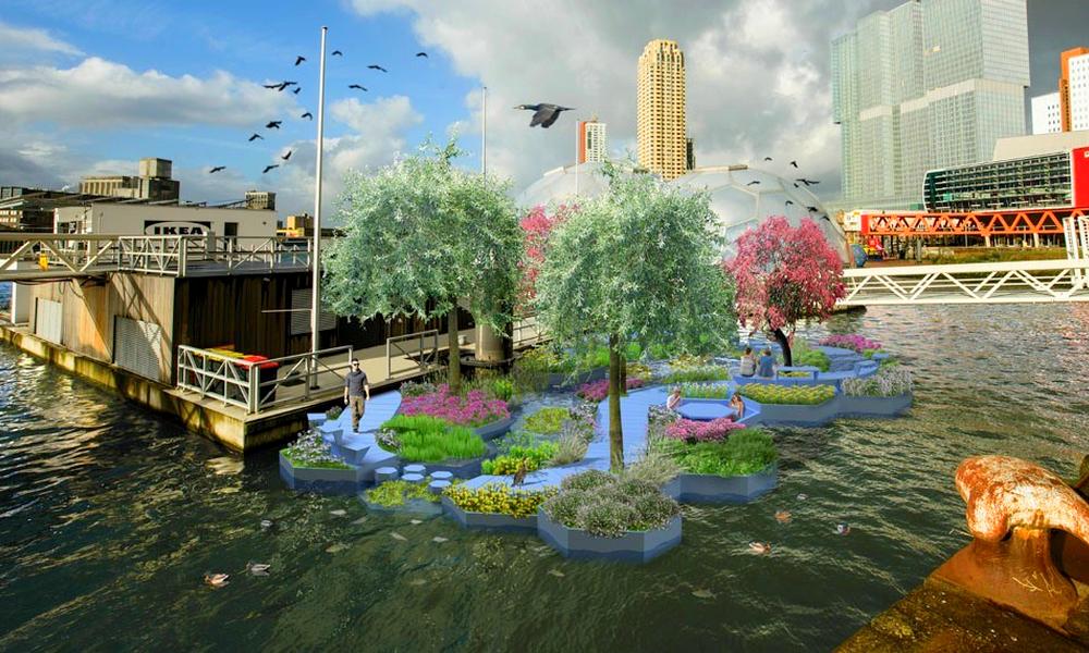 Abracadabra : Rotterdam transforme les déchets fluviaux en parc