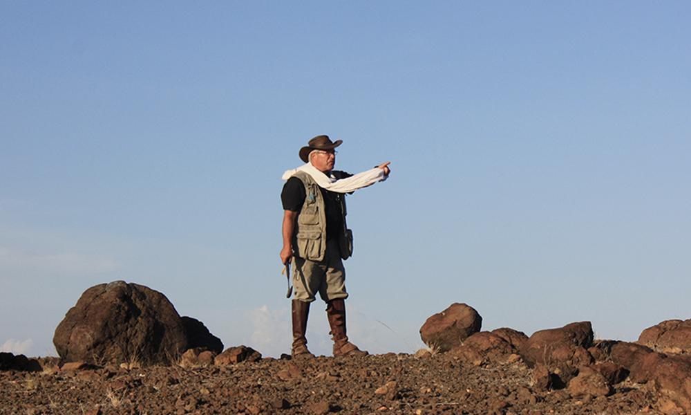 L'homme qui trouve l'eau cachée dans les déserts