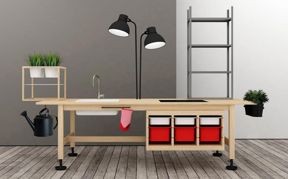 """Créez des meubles originaux grâce au """"Ikea hacking"""" !"""