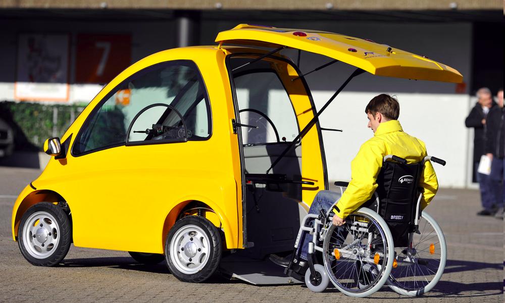 Kenguru, la voiture accessible en fauteuil roulant