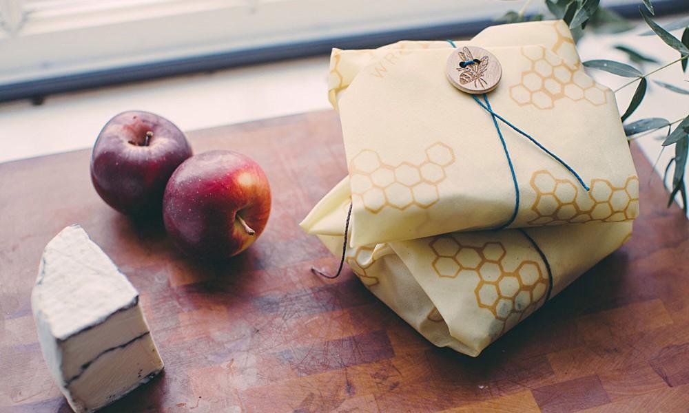 Des emballages sans plastique mais en cire d'abeille ? Ruche idée !
