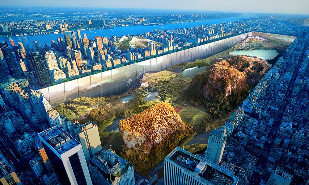 Deux architectes veulent transformer New York en parc naturel