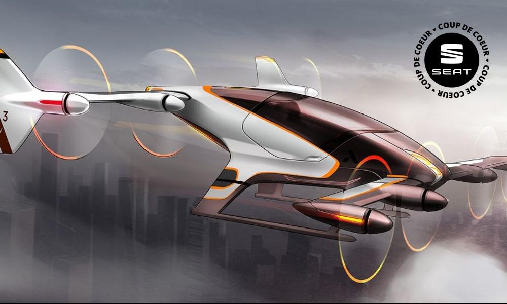 Levez les yeux : le premier taxi autonome descend du ciel