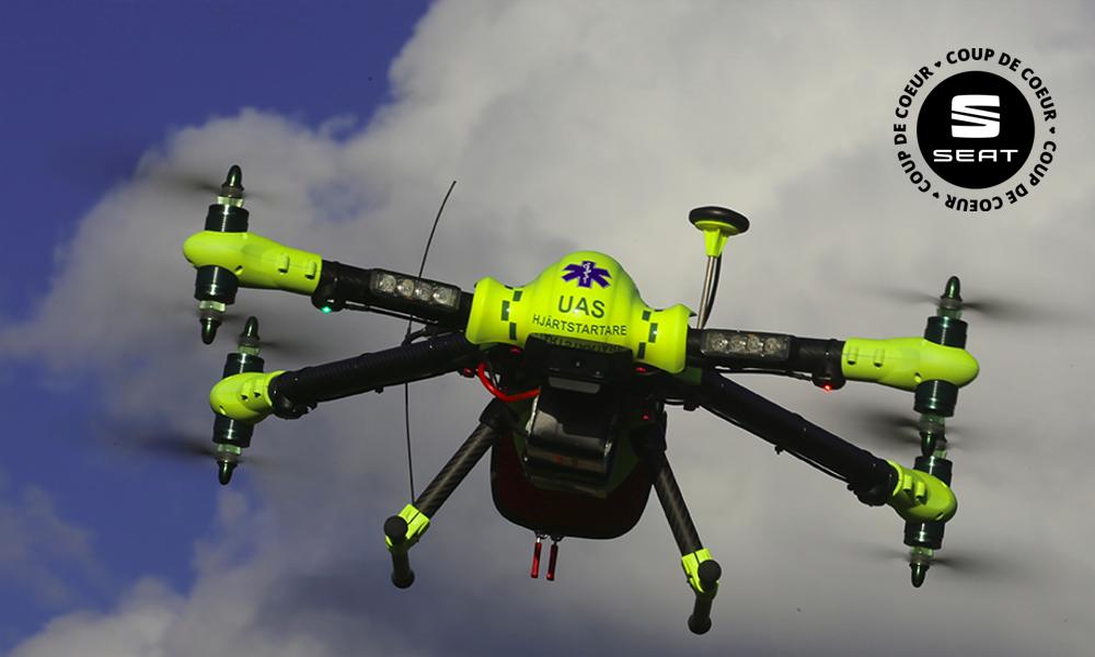 Ce drone-défibrillateur pourrait bien vous sauver la vie