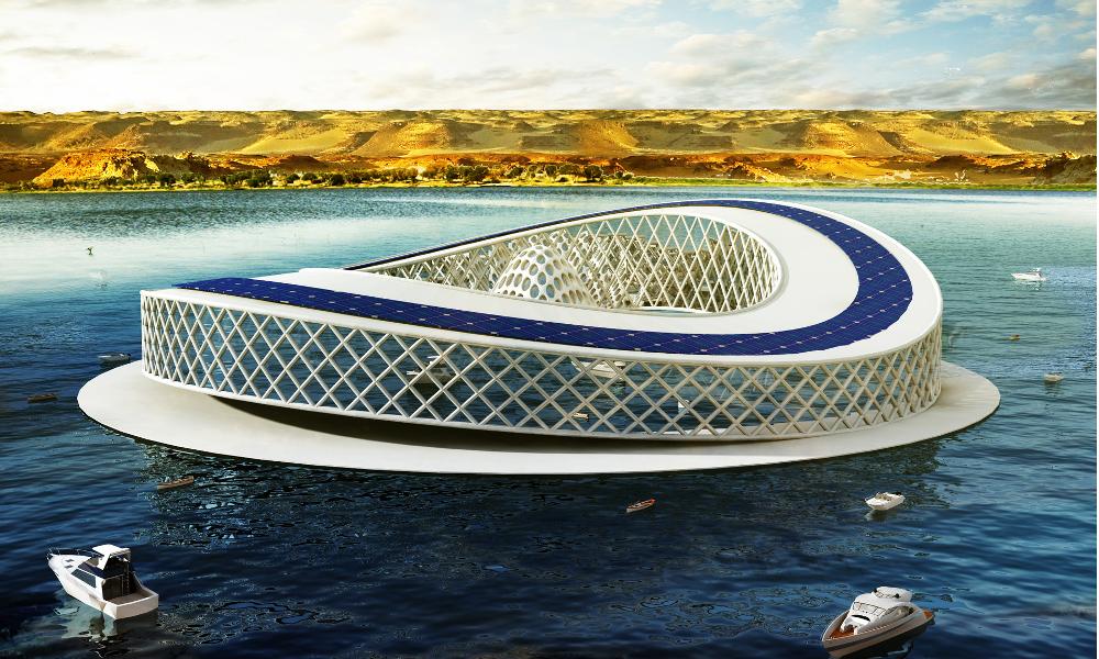 Cette île artificielle va empêcher le lac Tchad de disparaître