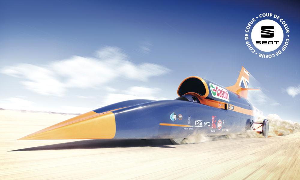 Une voiture plus rapide qu'un avion? C'est pour 2018