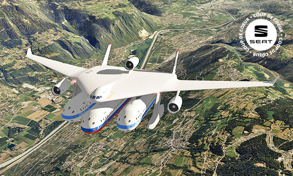 Cet avion se transforme en wagon, en car ou en bateau