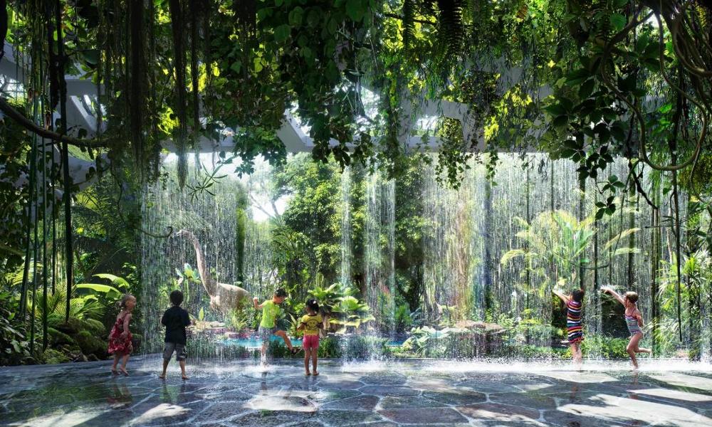 Cette majestueuse jungle tropicale pousse… à l'intérieur d'un hôtel