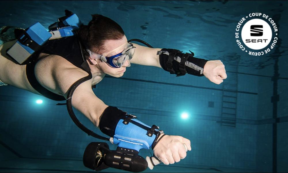 Ce jetpack sous-marin va vous transformer en vrai poisson