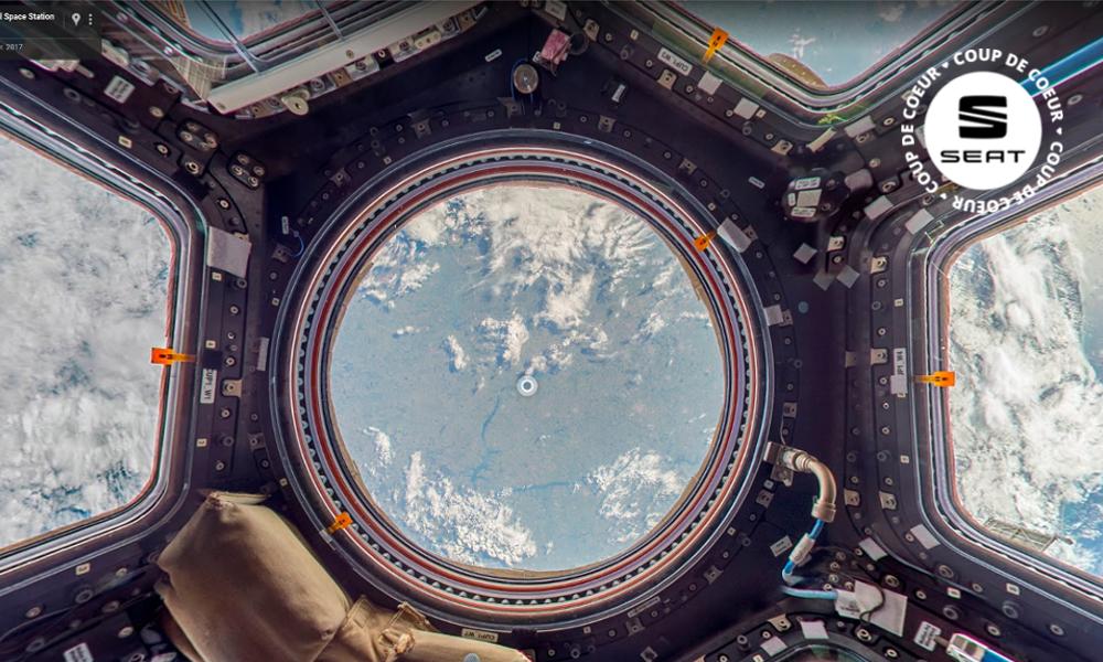 Vacances sous la pluie ? Visitez la station spatiale sans quitter votre canapé !