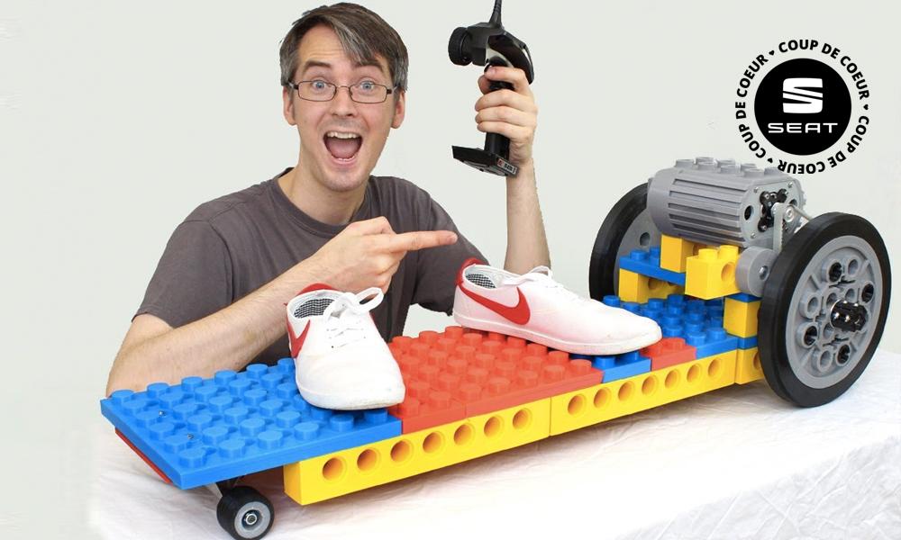 Construisez votre skate électrique… en LEGO