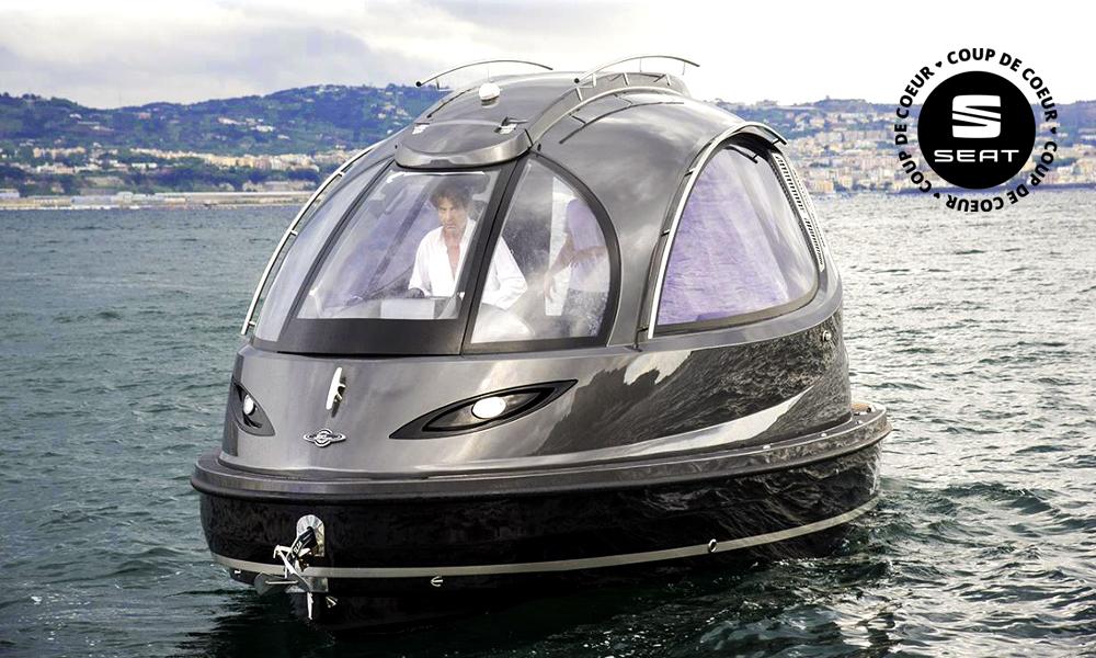 Surfez sur le futur avec ce yacht miniature