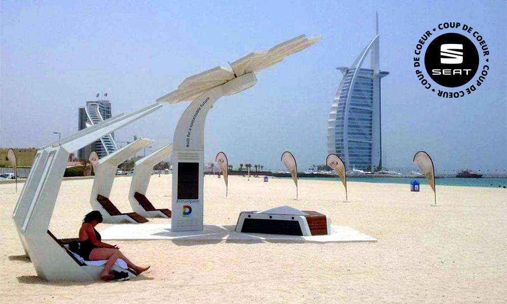 Gratos : ces palmiers solaires vous offrent du Wi-Fi sur les plages