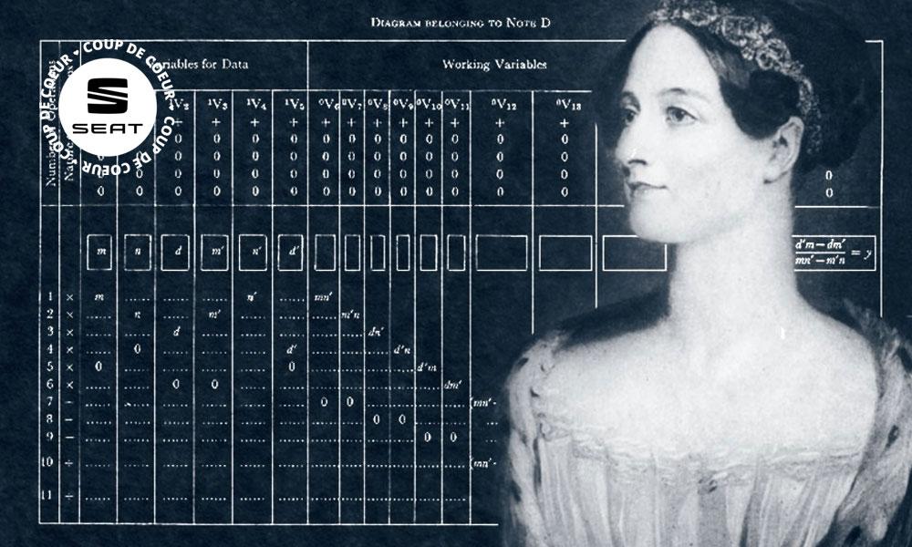 Quand une femme inventait le code informatique… en 1843