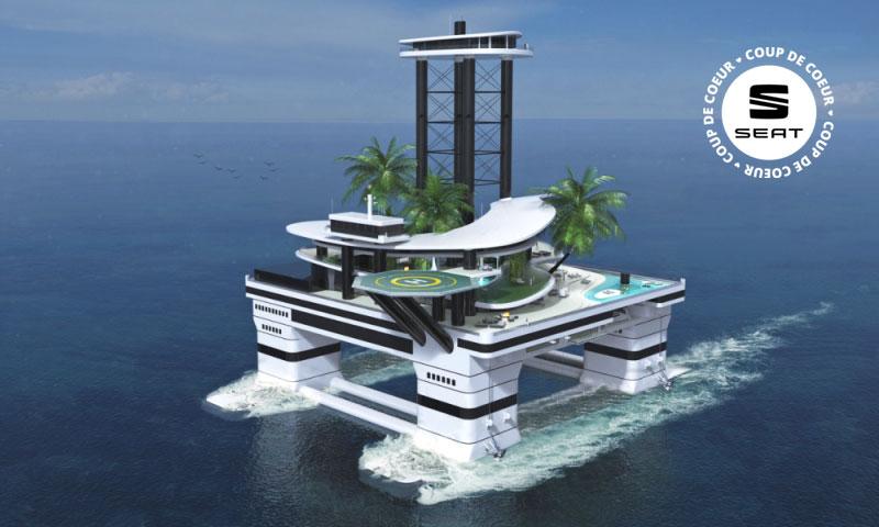 Pourquoi acheter un yacht quand on peut avoir une île à moteur?