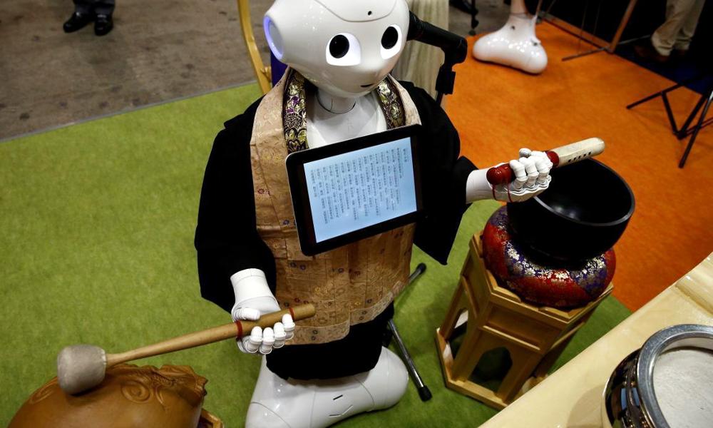 Oh my god, le Japon vient d'inventer un robot prêtre