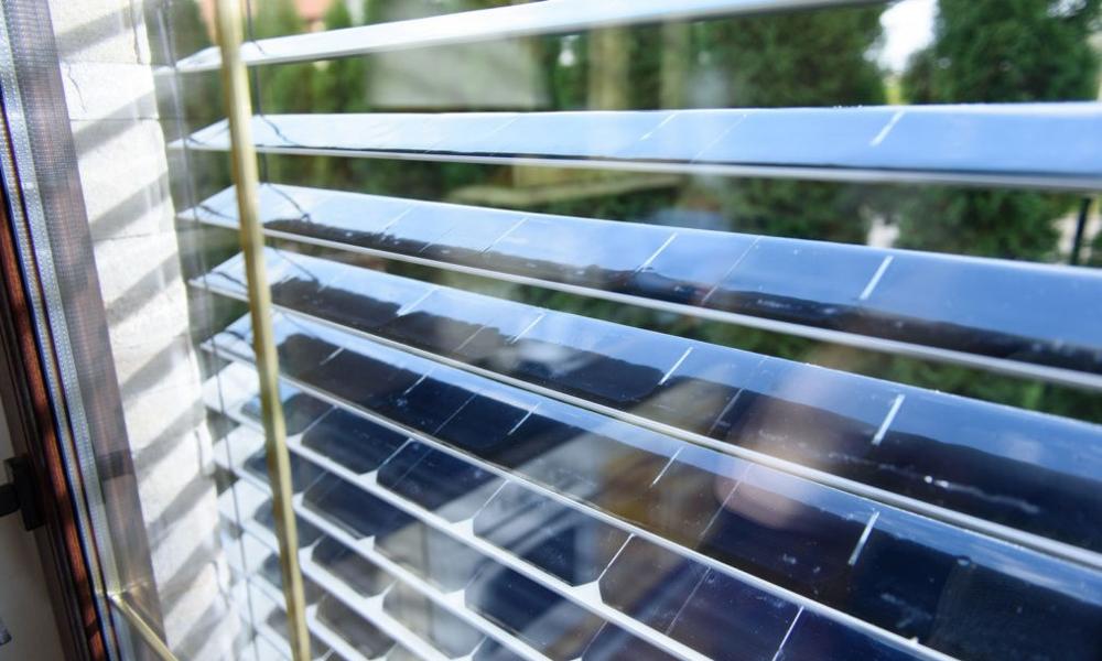 -70% sur la facture EDF grâce à ces stores photovoltaïques