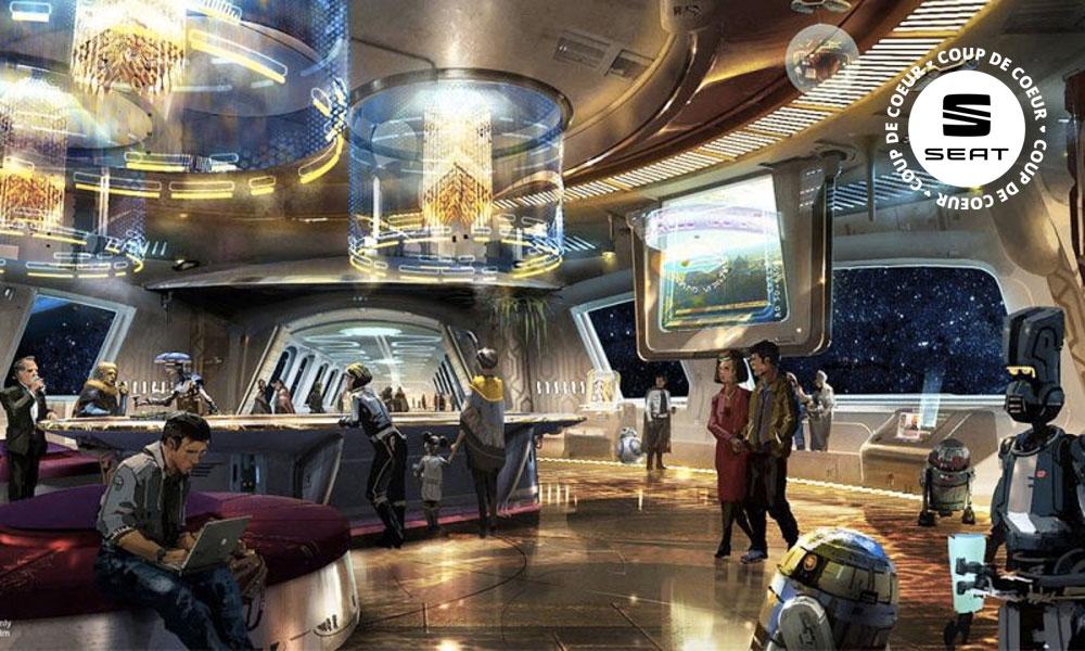 Bientôt disponible : un hôtel Star Wars où vous serez le héros