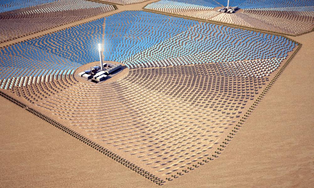 Pour faire baisser le prix de l'énergie solaire en France, importons-la du Sahara