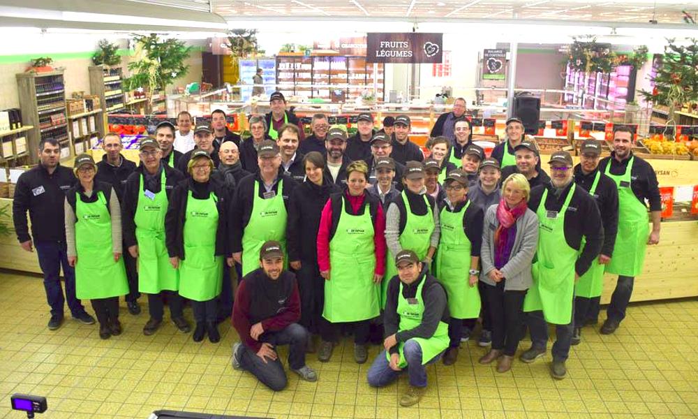À Colmar, 35 agriculteurs rachètent un Lidl pour y vendre leurs productions locales