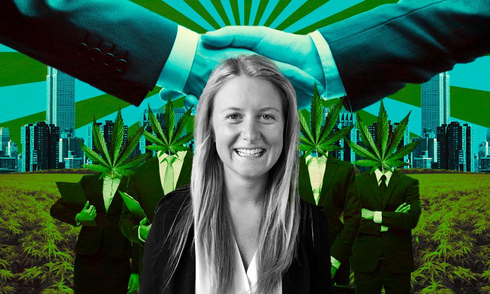 À 24 ans, cette Américaine tient le premier site d'emploi dans le cannabis