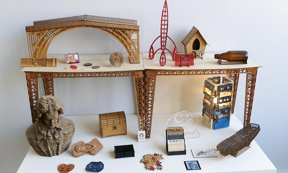 Détour par les ateliers d'impression 3D du Fablab de Lille