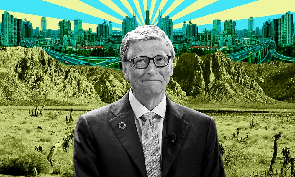 Bill Gates veut construire la ville du futur en plein désert