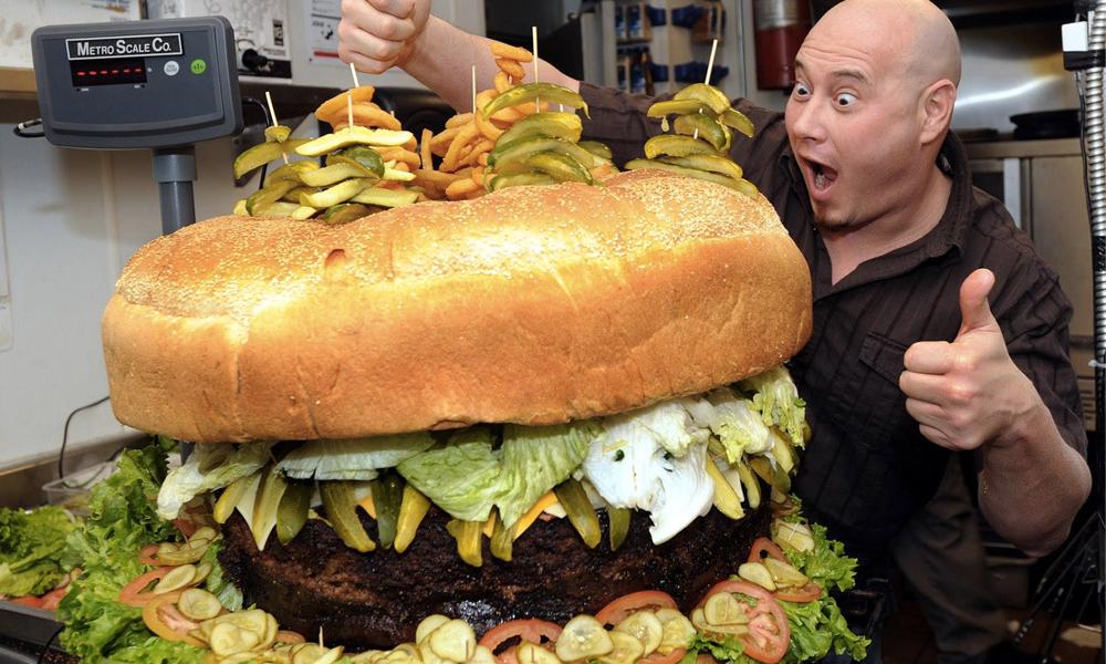 En fait, les burgers seraient bons contre le cancer de la peau