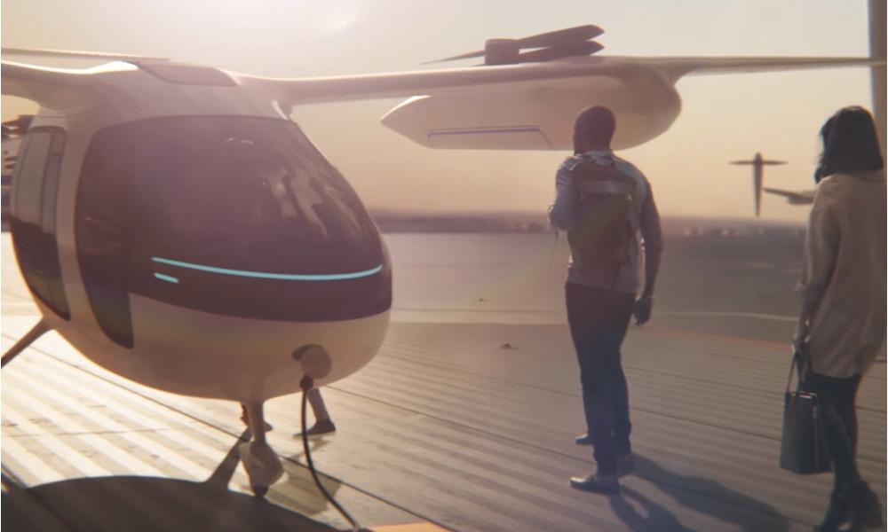 Uber s'allie avec la NASA pour créer le premier taxi volant