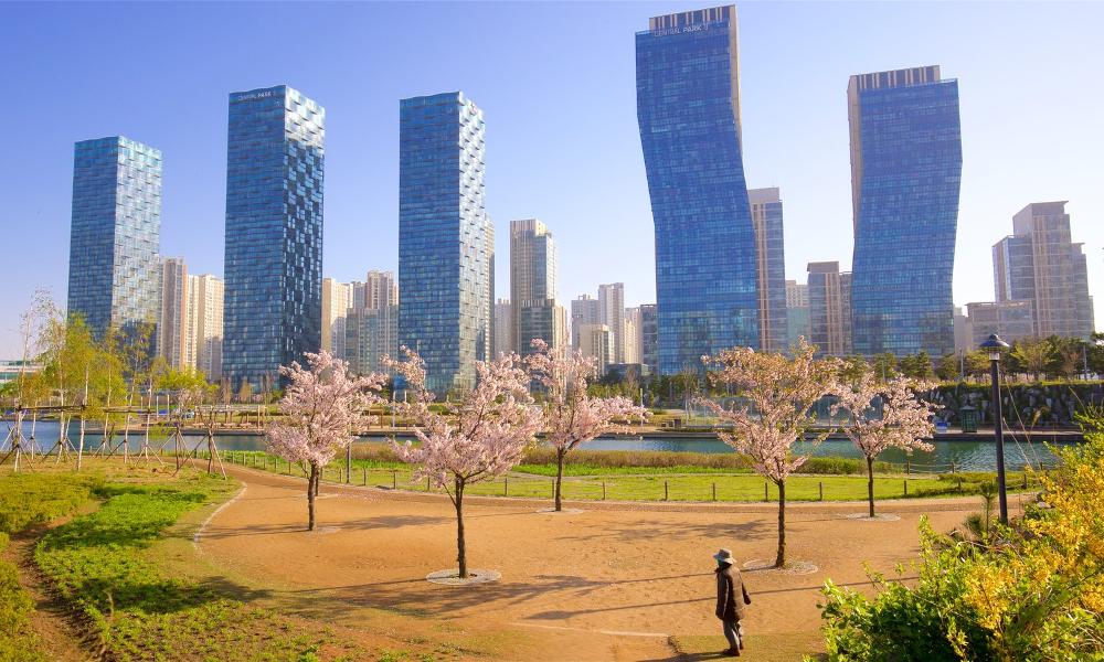 La Corée du sud invente la ville écologique où tout peut se faire à pied