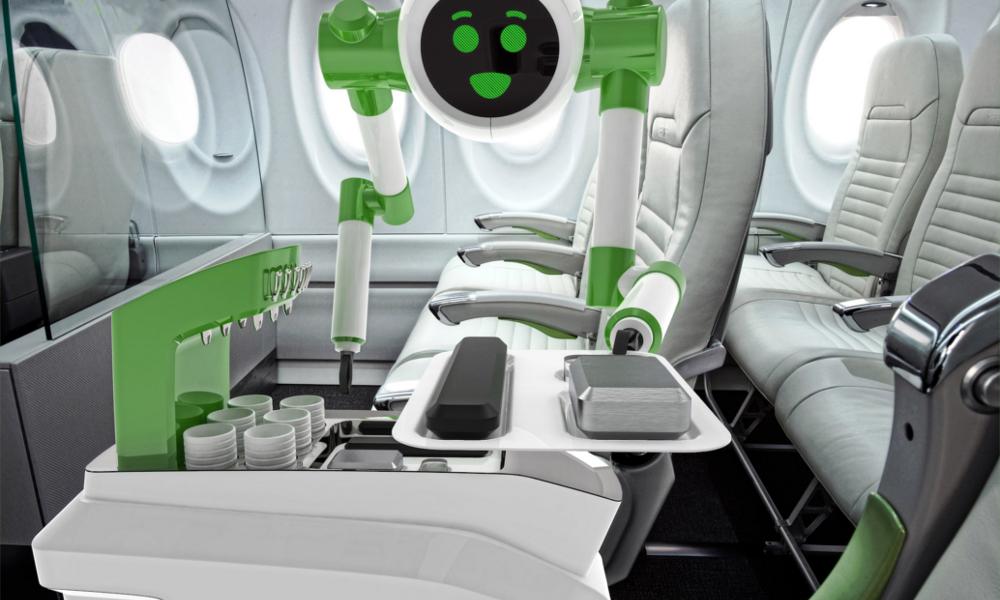 Le steward du futur sera sûrement un… robot