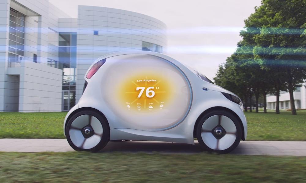 Et si demain nos voitures devenaient des écrans sur roues?