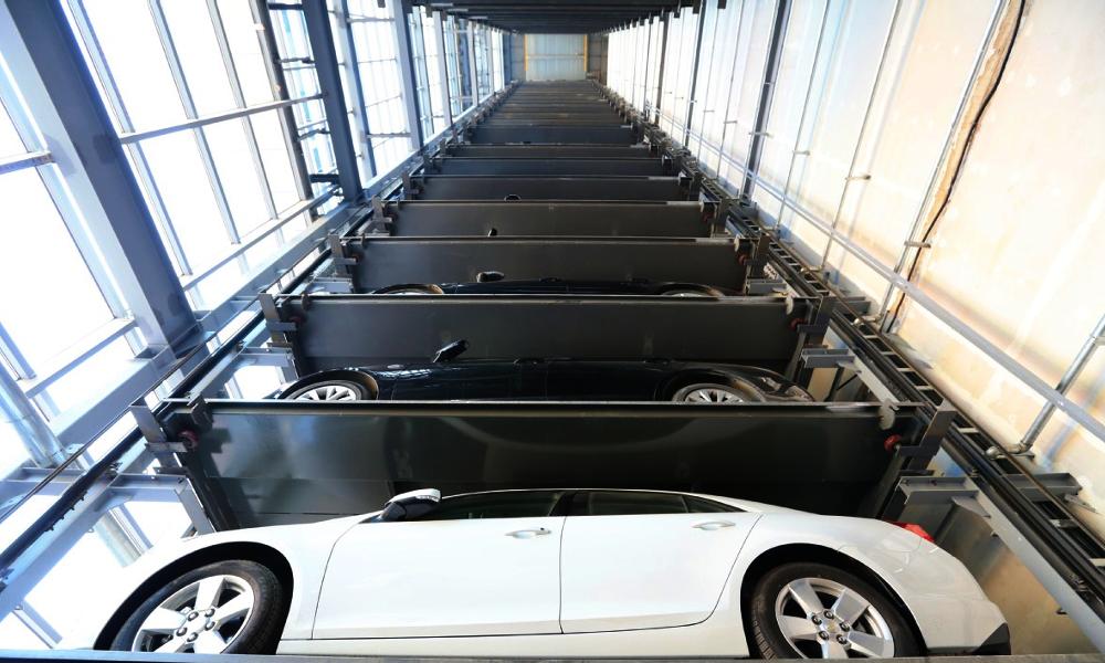 Garer plus de voitures sur moins de place : voici la parking-tower