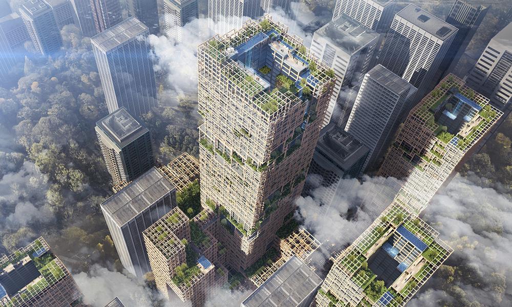 Les gratte-ciel en bois sont-ils l'avenir de l'architecture?