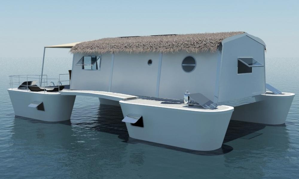 Cet hôtel flottant et démontable va réinventer vos vacances